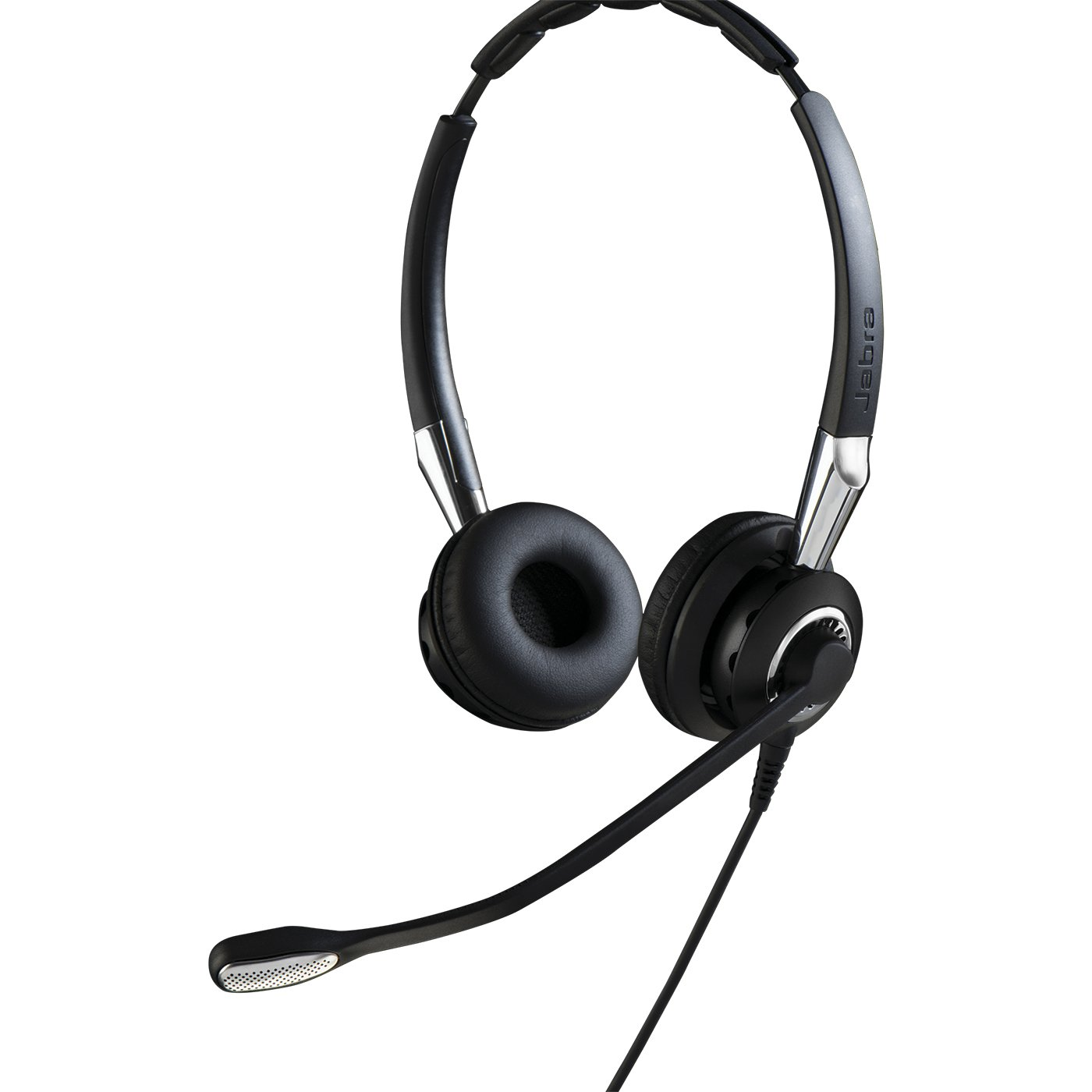 Jabra BIZ/™ 2400 II Duo Quick disconnect noise cancelling headset optimised for UC platforms
