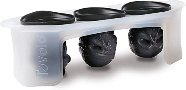 Tovolo Silicone Skull 3 Piece Ice Mold Set