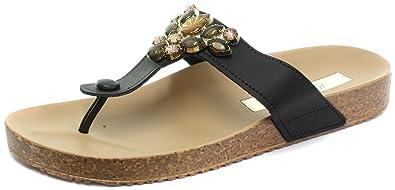 60ec209ee Grendha Brasil Essence Thong Black Womens Flip Flops  Amazon.co.uk ...