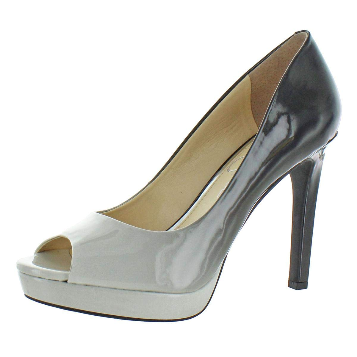 Black White Ombre Patent Jessica Simpson Women's Dalyn