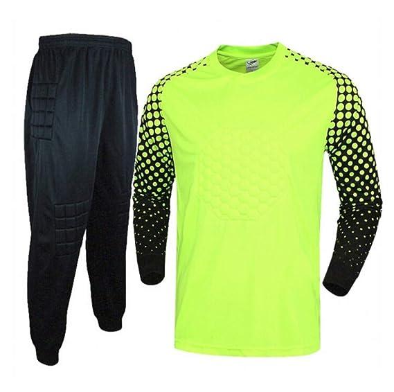 Conjunto de Portero de fútbol/Camisa de Manga Larga Sudadera ...