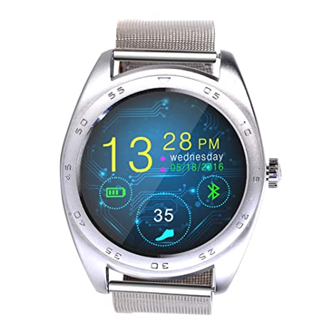 Amazon.com: QUARKJK Reloj inteligente para hombre y mujer ...