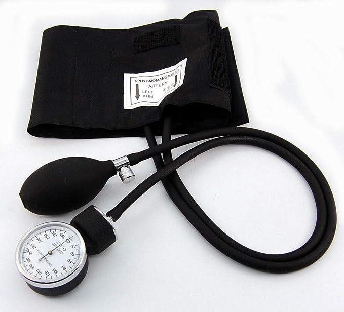 Profesional de medición de tensión aneroide con varios manguitos la estructura externa de diseño de manchas de sangre de la presión acústica en de ...