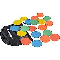 Eco Walker 4inch Mini Floor Spot Markers for Classroom Preschool and Kindergarten (Set of 20pcs)
