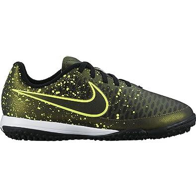 big sale d6be6 1c9ba Nike Jr Magista Onda TF, Chaussures de Sport Fille, Doré Vert Noir