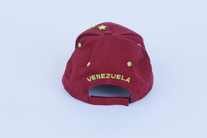 Amazon.com : 7 ESTRELLAS LA VINOTINTO RETRO NEON STYLE FVF Soccer Hat Burgundy - Gorra de Venezuela Futbol La Vinotinto : Everything Else