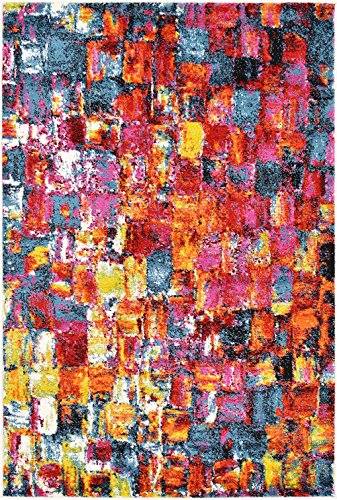 Abstract Painting Modern Area Rug Multi 4' x 6' FT Luce del