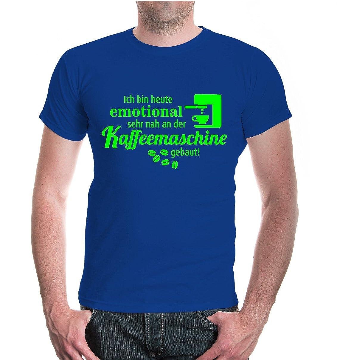 Camiseta Soy Hoy Emotional muy Cerca de la cafetera eléctrica ...