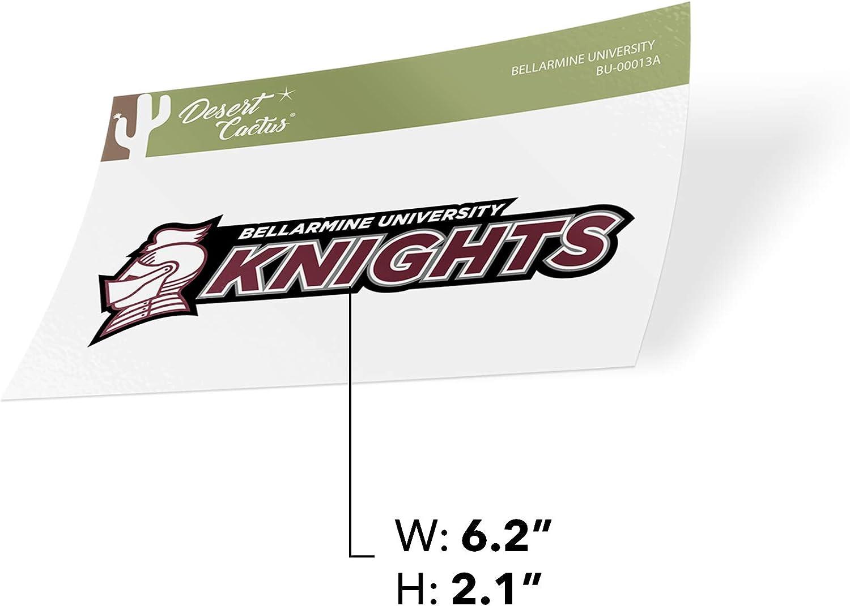 Bellarmine University Knights NCAA Vinyl Decal Laptop Water Bottle Car Scrapbook Sticker - 00013a