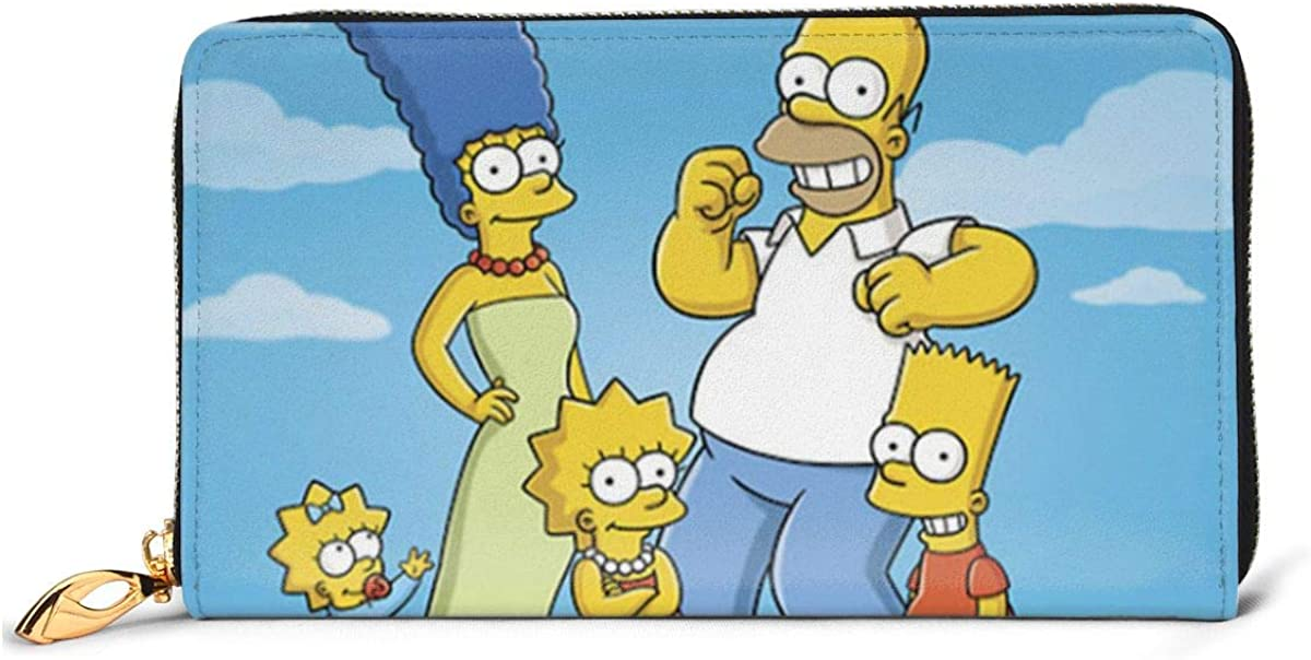 Easy To Carry Leather Wallet Simpsons Stylish And Personal The