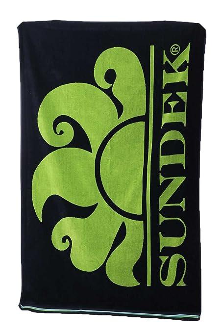 3 opinioni per SUNDEK AM312ATC1050-459 New Classic Logo Towel NAVY-BLUE TELO MARE 100%Cotone