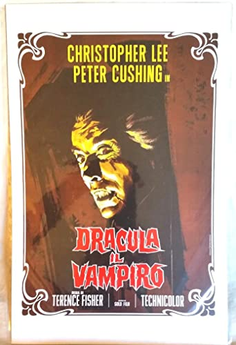 Dracula Peter Cushing Christopher Lee movie poster #2