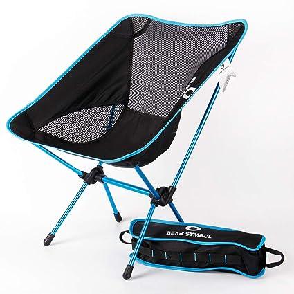 DUBAOBAO Silla De Camping Outdoor Silla Plegable Camping Ultra ...