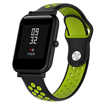 DAM. DMAB0126C0020. Correa Deportiva Universal De Silicona para Relojes De 20Mm. Compatible Samsung Gear S2, Samsung Gear Sport. Quick Release. Negro