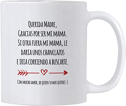 Casitika Regalo Para Mama de Dia de Madres o Cumpleanos. Funny Gift Ideas in Spanish for Mothers Day or Birthday. 11 oz Latin Mom Mug. Taza para Cafe ...