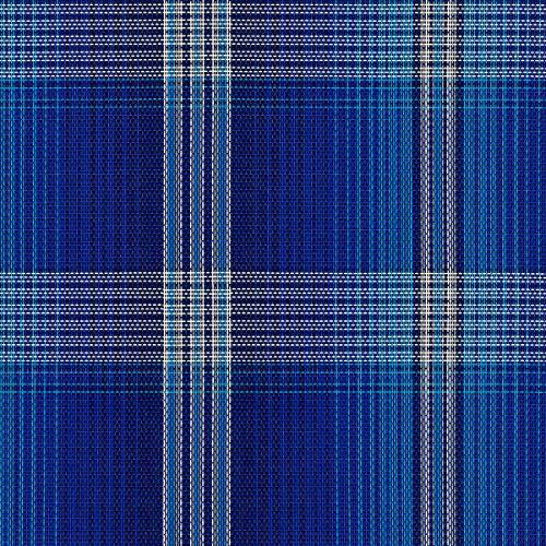 (Kensington Mini Plaid Poly Cotton Stable Sheet by Kensington, Kentucky Blue, X-Large (48-52