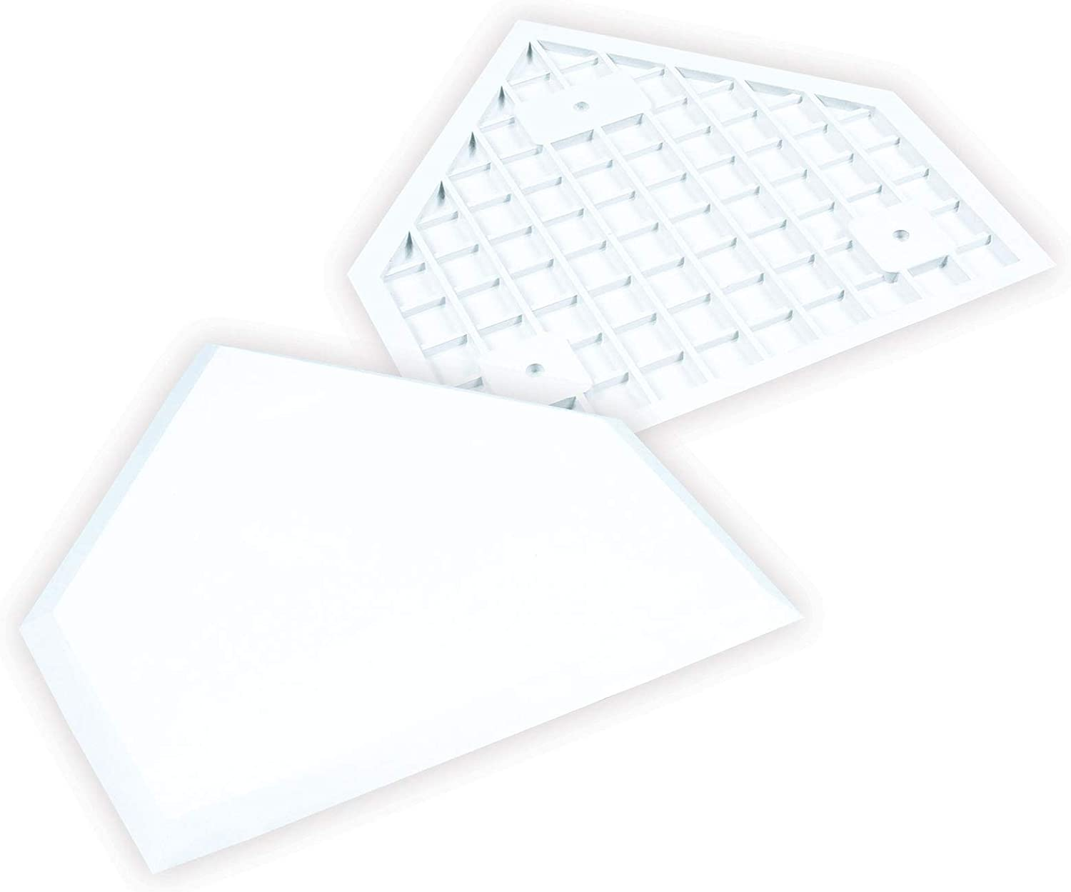 Champro Home Plate without Spikes (White)