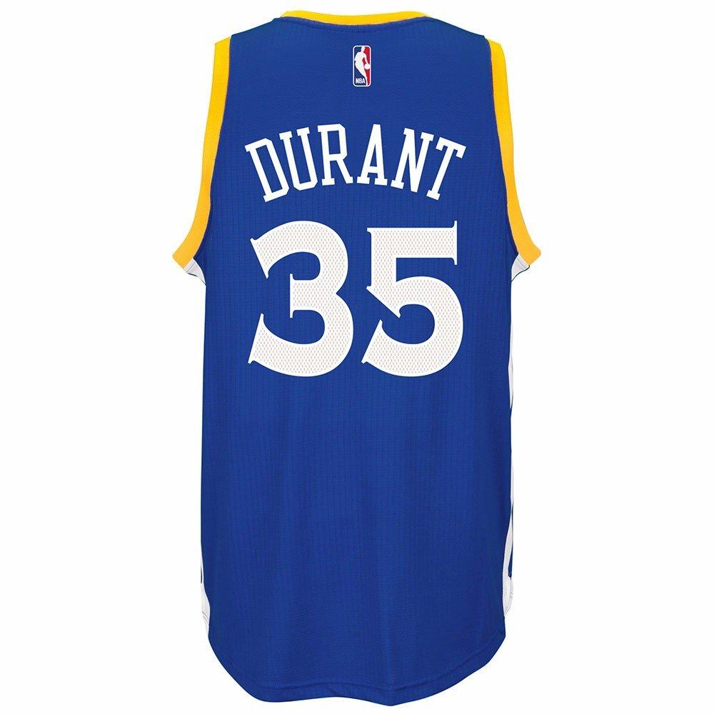 da27f5e71ed Amazon.com   Kevin Durant Golden State Warriors NBA Adidads Men Blue  Official Climacool Away Swingman Jersey (2XL)   Sports   Outdoors