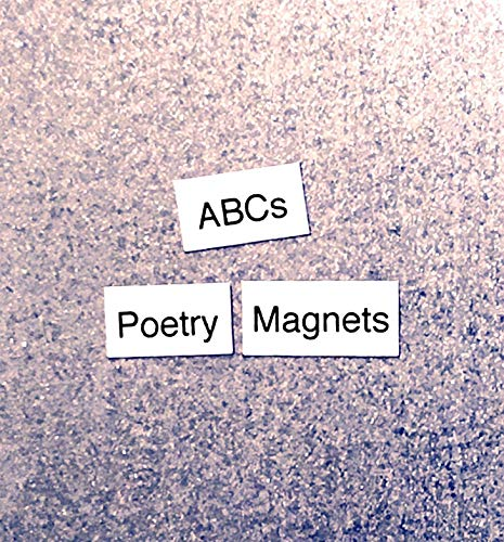 ABCs Magnetic Poetry/Alphabet Refrigerator Magnets/Phonics/ABC Letters/Educational Learning Game/Teacher Student Gift/Homeschool