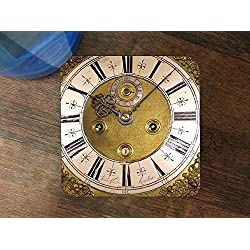 Steampunk Grandfather Clock Silicone Drink Beverage Coaster 4 Pack