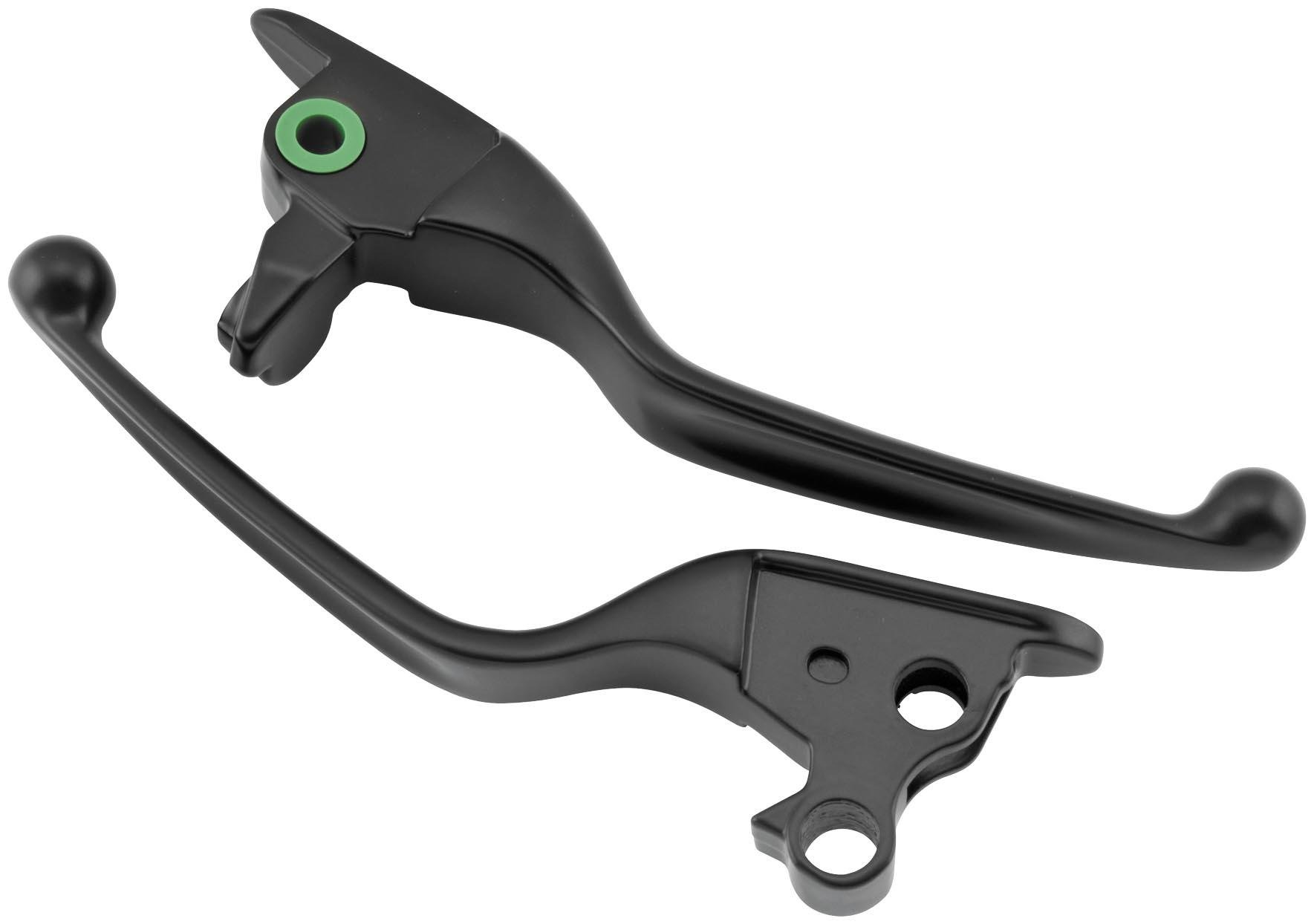 Bikers Choice Brake and Clutch Levers - Black 053902 by Biker's Choice