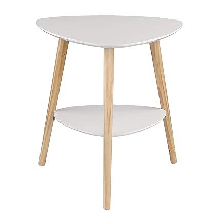 Tavolino Due Ripiani.Eugad Tavolino Da Caffe In Legno Con Due Ripiani Stile