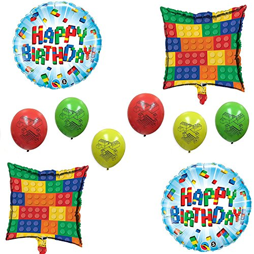 Lego Balloons Decorations Amazoncom