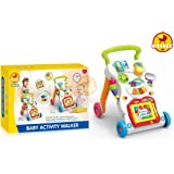 Baybee Baby Activity Walker (Multi Color)