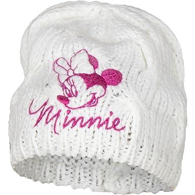 6b848a666fae Minnie Mouse Baby Bonnet pour tour de tête 48-50 cm - Blanc ...