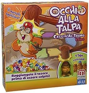 Juegos Mattel - Guaca-Mole en busca del tesoro, juego de mesa (BFV26)