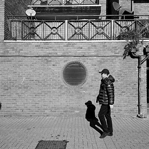 - Black And White London Street Photography Print, Shadow Print, Man Print, Street Scene, Photo, Crossharbour, Canary Wharf, London, England