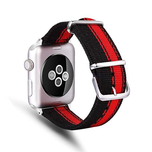 TechCode Smartwatch Band, Premium Nylon Sportband Slim Watch ...