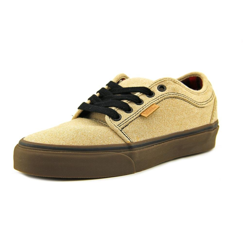 180ddeee68d3bd Amazon.com  Vans Mens Chukka Low Skateboarding Shoes- Tan Gum- Size 7   Sports   Outdoors