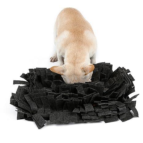 HongYH Dog Snuffle Mat - Alfombra de alimentación para perros - Cat Training Mat - Alienta