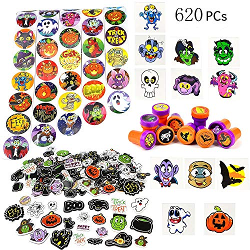 JOYIN Over 600 Pieces Halloween Craft Assortment Kit