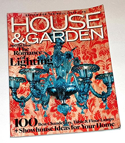House & Garden October 2006 The Romance of Lighting, 100 Best Chandeliers - Table & Floor Lamps - Showcase Ideas For Your Home Romance Collection Table Lamp