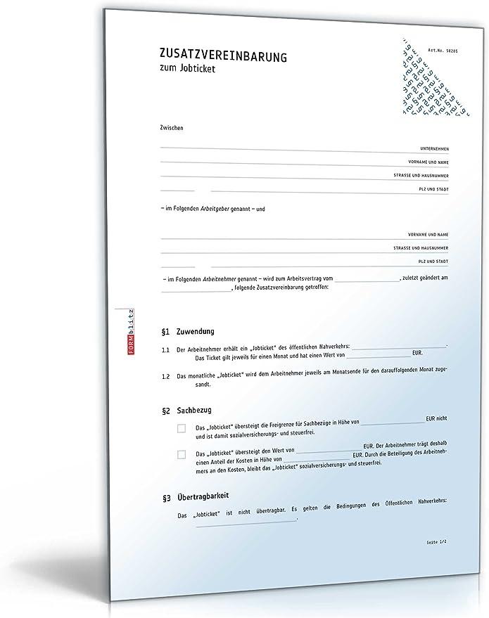 Homeoffice Muster Einer Zusatzvereinbarung 11