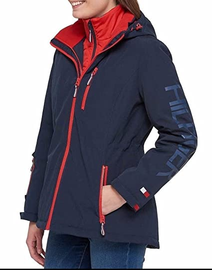Tommy Hilfiger 3-In-1 Systems Jacket For Women at Amazon Women s ... 3a670f9436