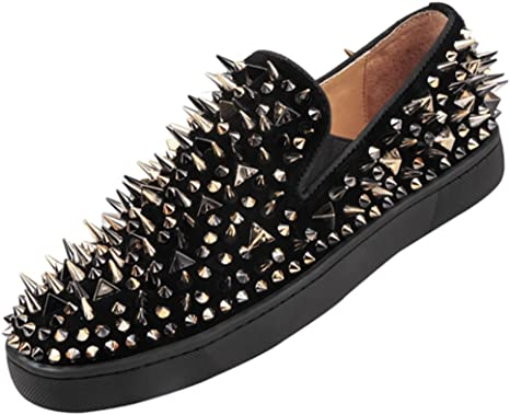 Calidad Zapatos Casuales para Hombres Remaches Punk Carrefour ...