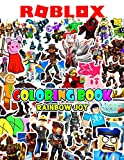 Rainbow Joy - Roblox Coloring Book: High Quality