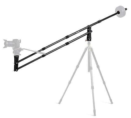 8 opinioni per Rollei Mini Crane M1 Mini Gru per Fotocamera, Carico Massimo: 5 kg, Carbonio,