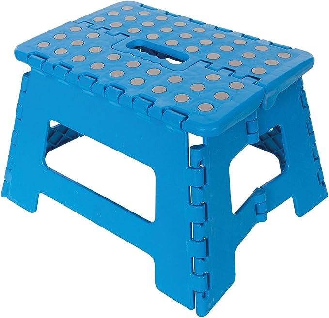 Silverline 968731 Plataforma pequeña plegable, Azul: Amazon.es: Bricolaje y herramientas