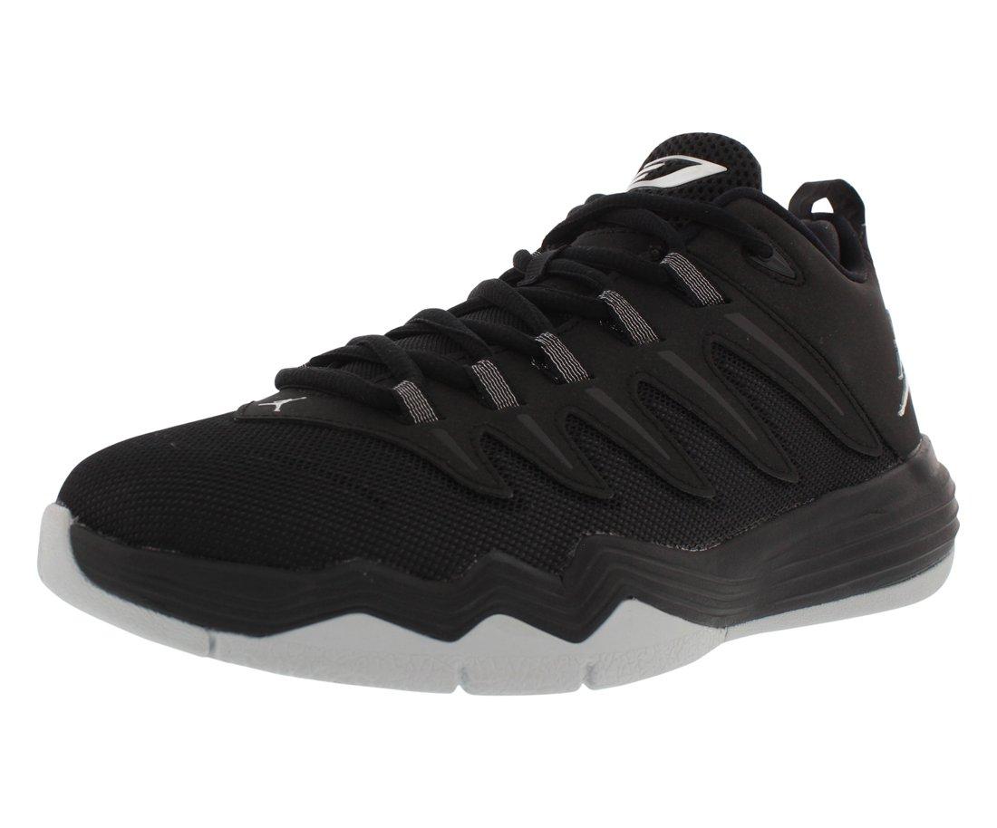 Jordan Nike Kids CP3.IX Black/Metallic Silver/Anthracite Basketball Shoe 6 Kids US