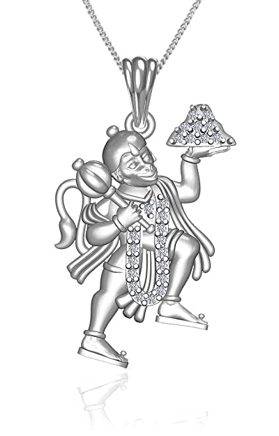Buy exxotic traditional sterling silver hanuman pendant jewellery exxotic traditional sterling silver hanuman pendant jewellery aloadofball Image collections
