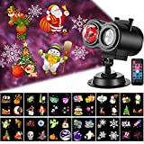 Christmas Projector Lights with Ocean Wave Outdoor Holiday Decorations,Halloween Led Projector...