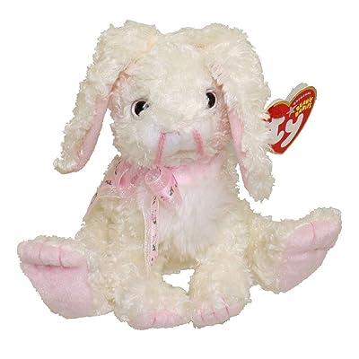 Marshmallow the White Bunny Rabbit - Ty Beanie Babies: Toys & Games