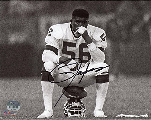 Lawrence Taylor New York Giants Autographed 8