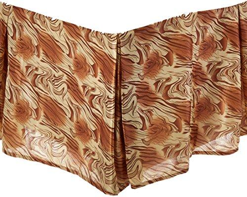 DaDa Bedding BM6169L-1 King Midas Bed Skirt, Queen