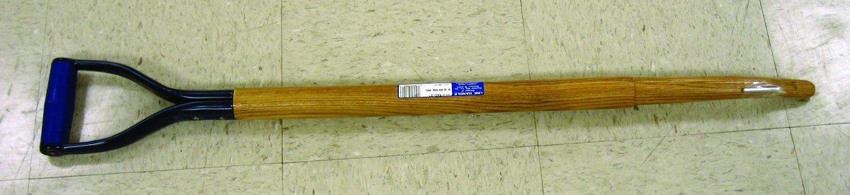 "Link Handles - 66823 Bent Hollowback Shovel/Scoop Handles With Shoulder and Steel D-Grip, 1-1/2"" Diameter (Various Length and Models: 30"" - 42""), 36"" Length, Model 960-21"