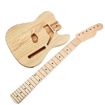 Homyl Cuerpo de Guitarra sin Terminar de 1 Pieza Accesorios Bajos Instrumentos Musicales: Amazon.es: Instrumentos musicales